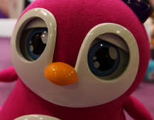 Girls get their own robot: Penbo the Pengiun