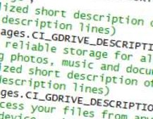 Official Google GDrive reference spotted