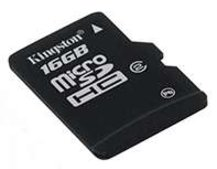Kingston launches 16GB microSDHC card