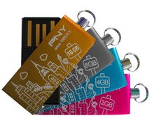 PNY Micro Attache City Series now in 16GB
