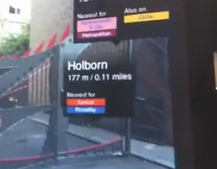 Video: Nearest Tube 3GS app augments reality