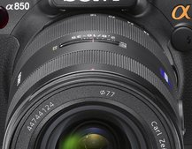 Sony Alpha 850, 550 and 500 DSLRs announced