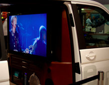 Volkswagen Minivan gets Home Cinema treatment