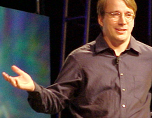 Linux founder says OS is bloated