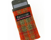 Maccessori Harris Tweed iPhone pouch available now