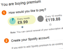 Spotify offers Premium subscription discount