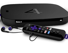 This is the Roku 4, leaked image shows larger, flatter box