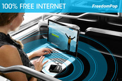 Get 100% free internet without having to steal it