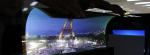 LG's roll-out OLED TV and transparent display caught in new videos