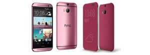Pink HTC One (M8): The fashionable feminine flagship smartphone