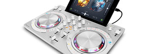 Can DJing be any simpler? Pioneer DDJ-WeGO3 hooks up to your iPad or iPhone and mixes from Spotify