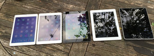 Oh haven't you grown up? iPad Air 2 - the family portrait