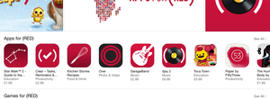 Angry Birds, Clash of Clans and Monument Valley just a few of the iPhone and iPad apps adding (Product)RED content for World Aids Day