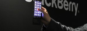 What the? All-new BlackBerry slider phone unexpectedly revealed at MWC 2015