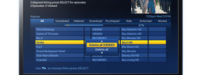 Sky+HD EPG update out: movie trailers, delete all option, cross-season series link and more