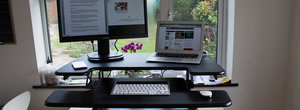Sitting is reportedly the new smoking: This standing desk setup could save your life