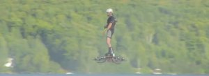 Watch this dude set a Guinness World Record with a real-life hoverboard