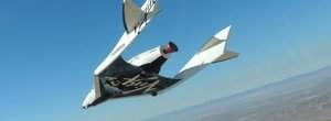 Virgin Galactic SpaceShipTwo crashes in desert during test, at least one dead
