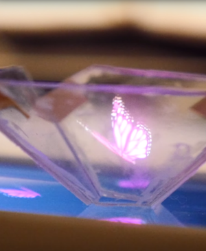 How to turn your smartphone into a 3D-holographic display, for under £5