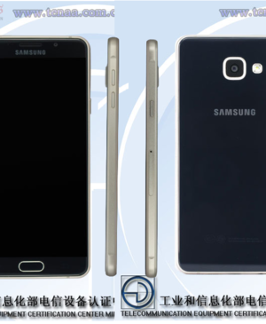 This is what the Samsung Galaxy A7's successor looks like