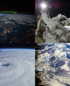 47 breath-taking images from the International Space Station