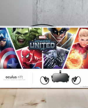 Oculus to launch Rift bundle with Marvel Powers United VR next week