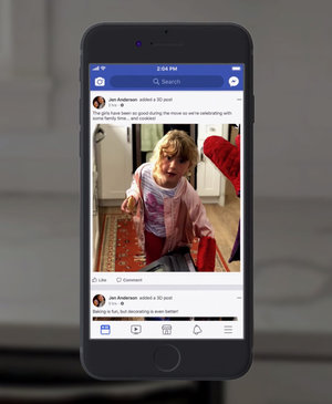Facebook 3D photo: How to create and view perspective-shifting pics