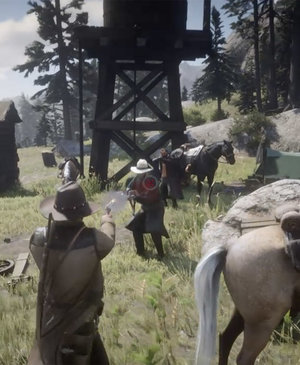 Red Dead Redemption 2 actual gameplay leaks