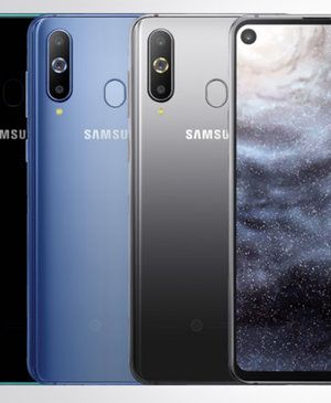 Samsung Galaxy A8s official, first phone with in-display camera