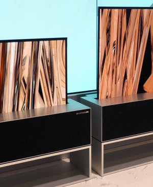 LG Signature OLED TV R: The TV that rolls up into a box
