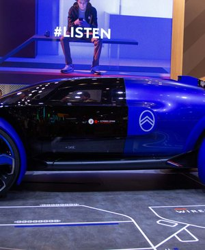 Citroen's 19_19 Concept celebrates 100 years of history with a techy vision of the future