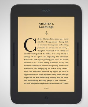 Barnes and Noble's new Nook GlowLight Plus e-reader launches 27 May