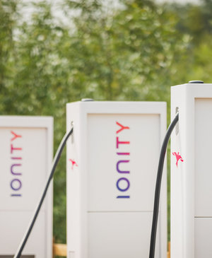 Ionity's 350kW EV chargers will bring the speed that EV growth needs