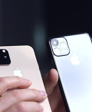 YouTubers are already showing off 'dummy' models of the iPhone 11