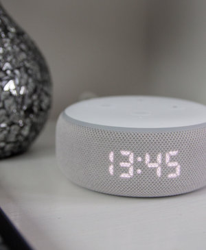 The new Amazon Echo Dot with Clock is an absolute Black Friday steal