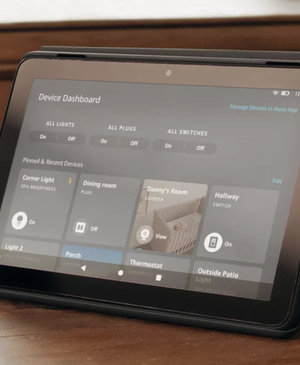 Amazon's Device Dashboard turns Fire tablets into a smart home controller