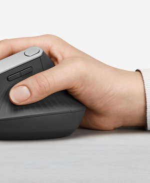 Logitech's latest unusual mouse will ease wrist strain
