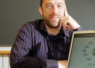 The Nokia Foundation award goes to Jimmy Wales