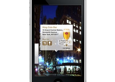 VIDEO: Stella Artois offers augmented reality Le Bar Guide iPhone app