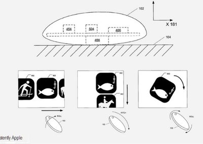 Apple patents rocking and rolling mouse