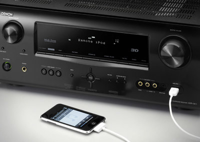 New AV receivers from Denon are 3D ready