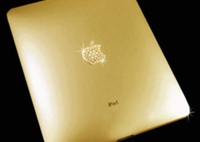 Solid gold iPad - a snip at £130,000