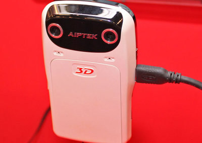 Aiptek demos 3D camcorder at Computex