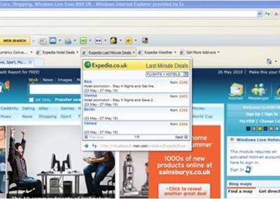 Microsoft in holiday romance with Expedia