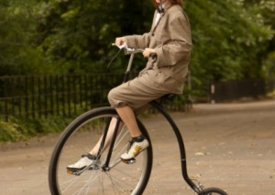 National Bike Week: Change gear with a Penny Farthing