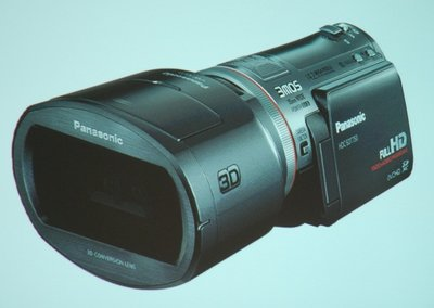 Panasonic launches the first 3D consumer camcorder