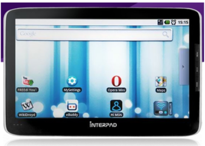 Interpad: Tegra tablet with Android onboard