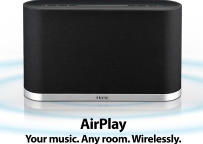 iHome ready for some Apple AirPlay