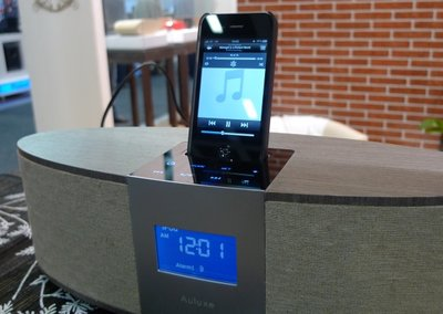 Auluxe Reverie Casa iPod dock debuts