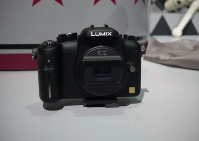 Panasonic G-Series Micro Four Thirds camera with 3D lens